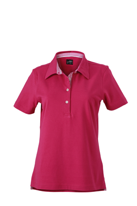 jn969 ladies plain polo purple