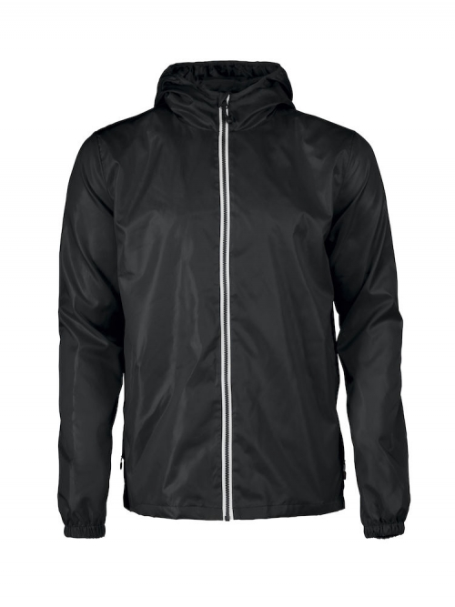 Fastplant jacket men black - printer